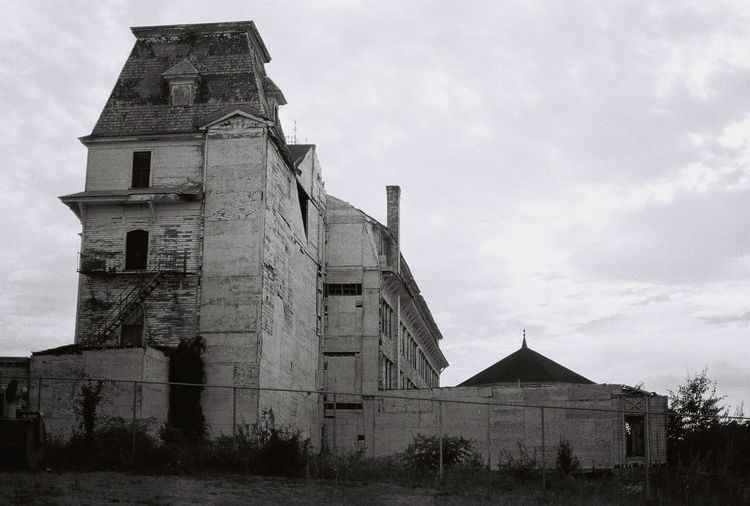 Blast from the past the old abandoned the victorian Wentworth By The Sea hotel 1999 35mm Film Abandoned & Derelict Abandoned Places Alone Death Decay Derelict Gothic Victorian Abandoned Abandoned Buildings Architecture Blackandwhite Building Building Exterior Built Structure Decaying Building Gothic Style History No People Old Sky The Past Wentworth