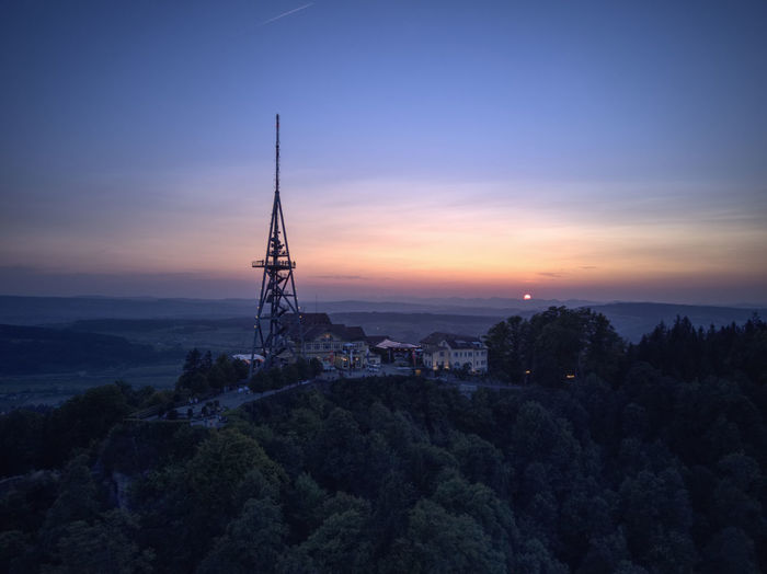 Drone  Enjoying The View Zürich Beauty In Nature Dji Dronephotography Landscape Mavic Nature No People Outdoors Sky Sunset Tranquility Tree üetliberg