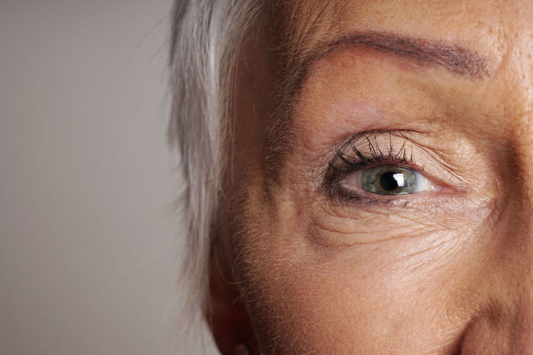 Adult Age Close-up Copy Space Eye Eyes Eyesight Female Human Eye Human Face Look Looking Looking At Camera Mature Mature Woman Old Part Of People Person Senior Vision Woman Women