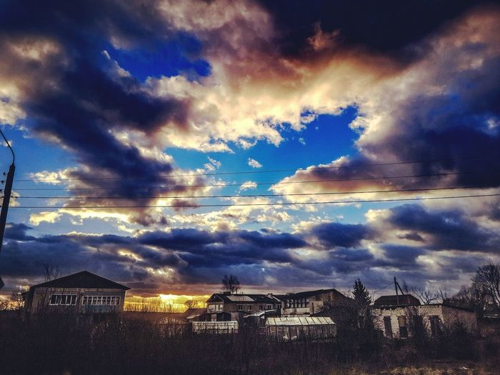 Skies Fall пейзаж HDR Hdr_Collection Sky_collection Autumn Colors Of Autumn Kaluga Landscape