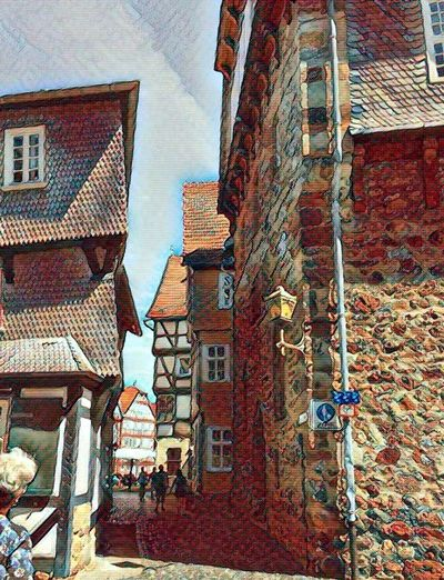 Fritzlar - Germany Summer 2017 Make It Old Old Town Architecture Brick Wall Building Exterior Built Structure Fritzlar Low Angle View No People Outdoors Sky