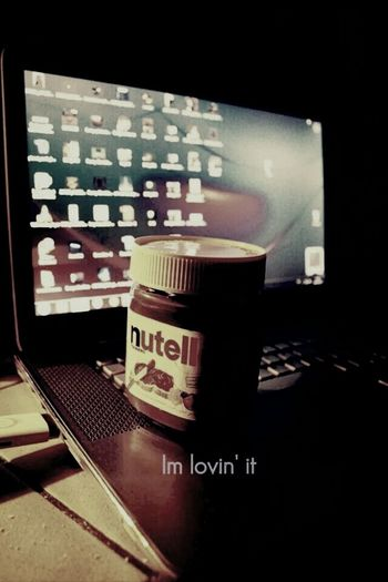 Nutella Love Chocolate Good Night