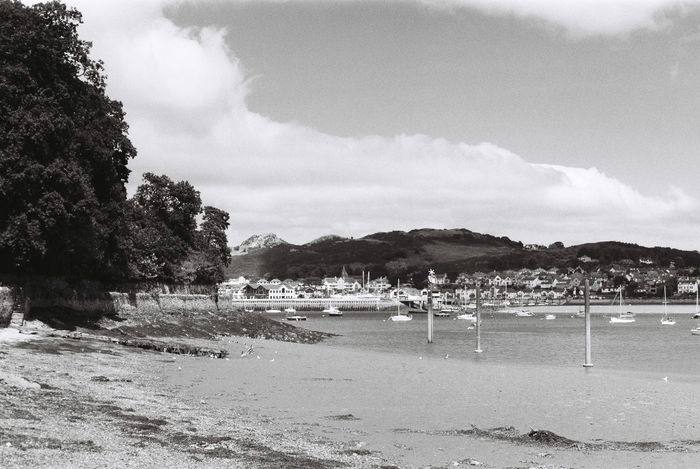 Conwy Estuary in north wales Beach Beauty In Nature Believeinfilm Black And White Boats Cloud - Sky Coast Coastline Conwy Day Deganwy Estuary Horizontal Mountain Nature Outdoors River Sailing Sand Scenics Sea Sky Tree Wales Water