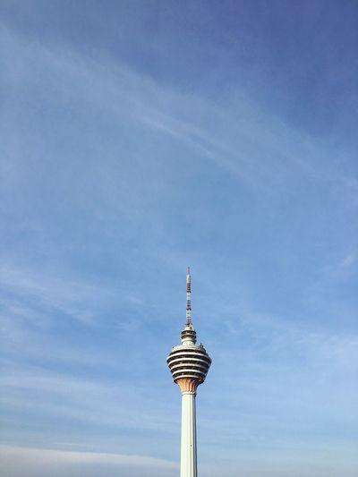 Kuala Lumpur tower, malaysia Architecture Sky Cloud - Sky Backgrounds Kuala Lumpur Malaysia  Kuala Lumpur Tower