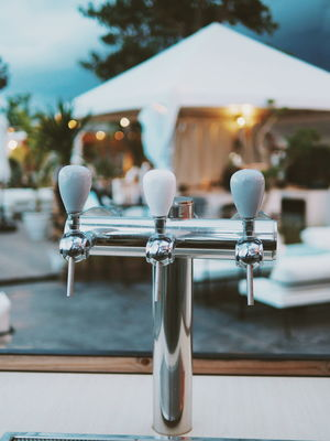 Beach Lounge Beer Architecture Bar Beach Lounger Beer - Alcohol Beer Glass Beer Time Beerlover Beertime Close-up Club Day Dispersion Draft Draft Beer Faucet Focus On Foreground No People Outdoors Tap Tower Water