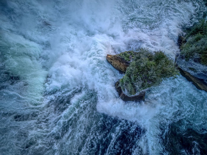 Drone  Rheinfall Birdseyeview Dji Dronephotography Droneshot Mavic Pro Motion Nature No People Outdoors Power In Nature Scenics Switzerland View From Above Water Waterfall