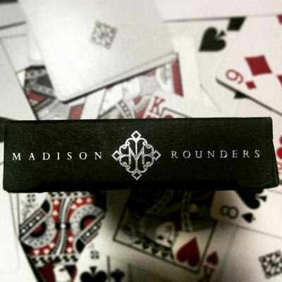 Kings Madison Playingcards Art Ellusionist Rounders Deck