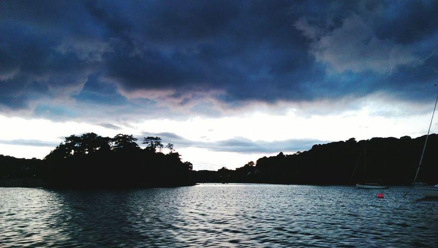 Cornwall, Fishing, Carrick Roads
