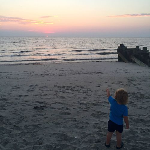 Sunsets Bye Bye Sun Summer Nights Delaware Bay Jersey Shore Baby Boy