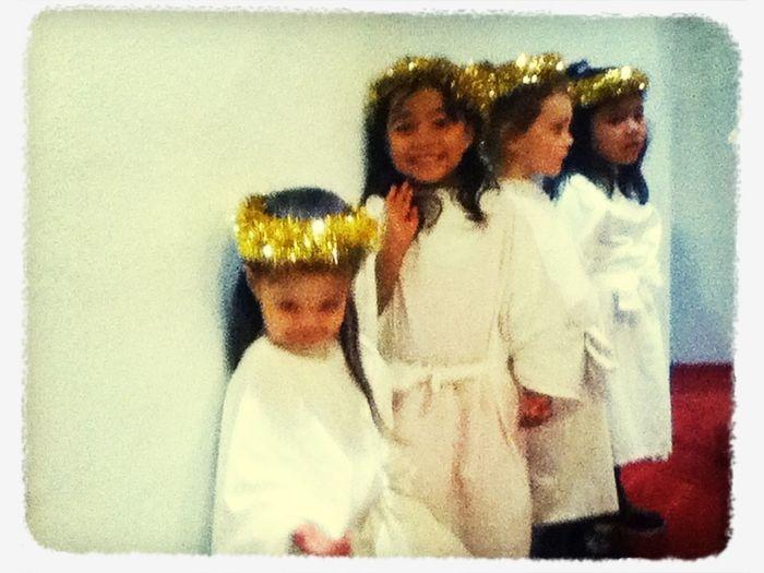 My angels Christmas play