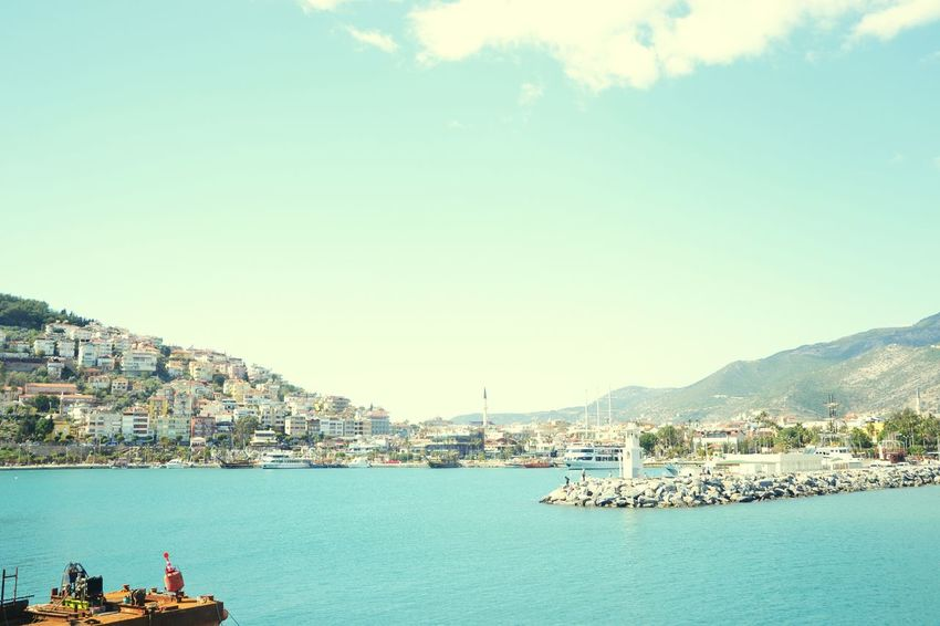 @Mavı@Huzur@DenizFenerı Blue Water @Alanya 😊 🤗 First Eyeem Photo