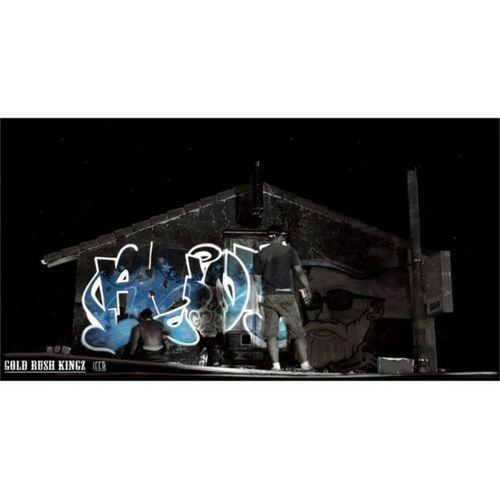 Ajaauxerre GRK Grkcrew Goldrushkingz Vandal Graffiti Graffitiwall