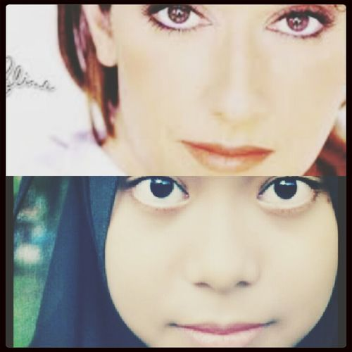 Celine dion and me ♥