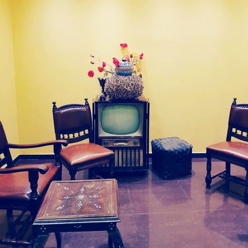 Chair Indoors  Arts Culture And Entertainment Table No People Living Room Day Bruxelles Brussels EyeEmNewHere Benjamin Decraene Decraene The Week On EyeEm Old Tv Vintage Vintage Tv Television Téléviseur Tv