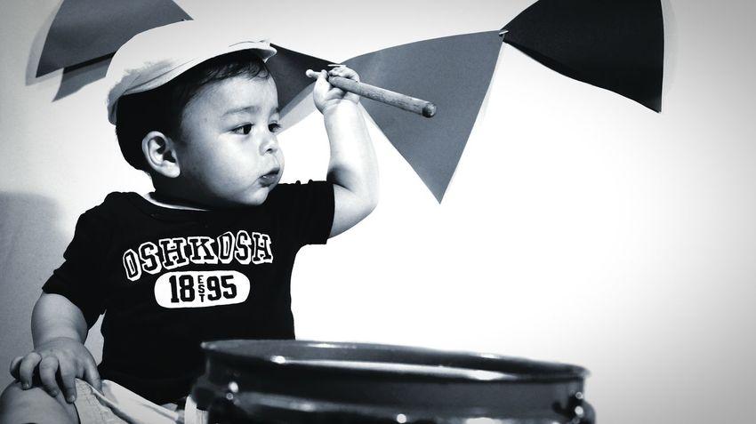 Baby ❤ Happy Photoshoot Guatemala Black And White