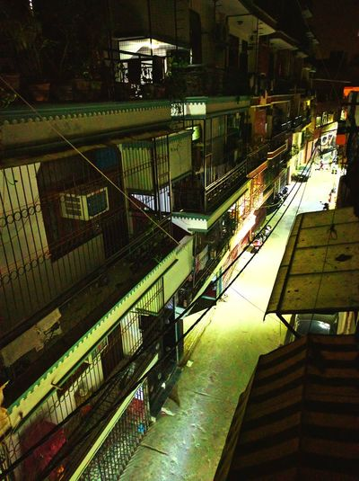 Malviya Nagar Alley Night View