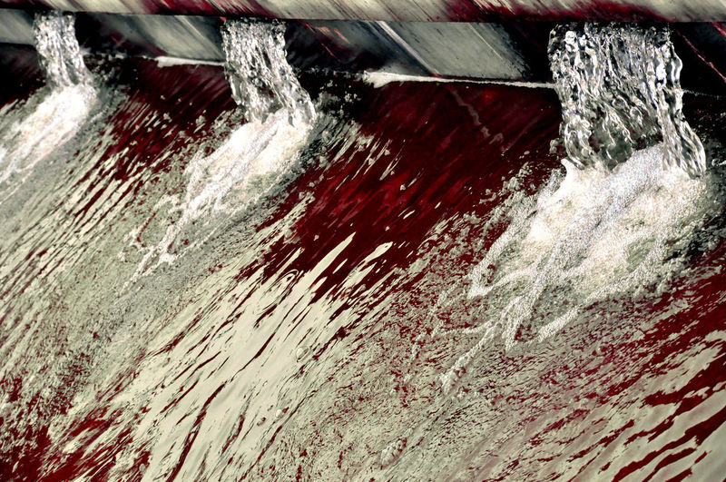 France Grenoble Water Source Bloody Water Edited Water Fontain Blood Photoshop Fountain