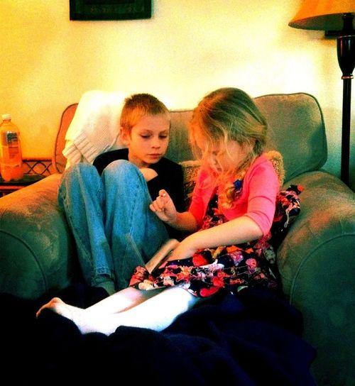 Savi And Ashton Heartbeat Moments