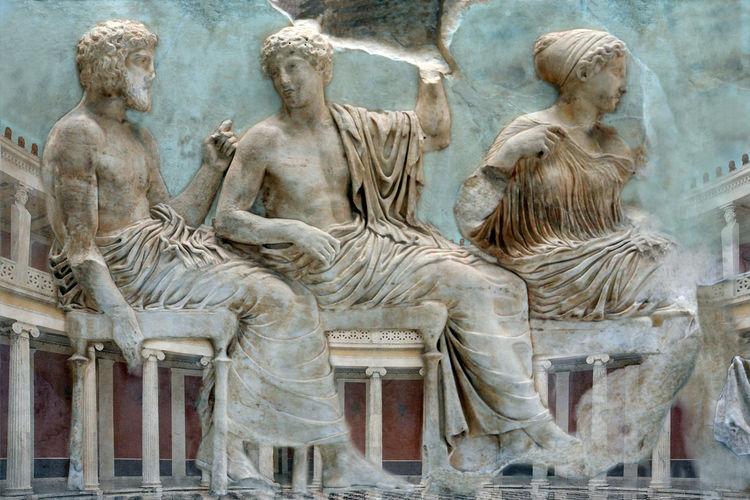 Ancient Civilization Ancient Greece Antiquity Art Art And Craft ArtWork Athenians Column Composition History Human Representation Painting Parthenon Sculpture Statue