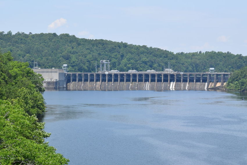 Lay Dam...Coosa River Dam Electric Electricity  Landscape River Scenics Tranquil Scene Water Lay Dam Alabama Alabama Outdoors Riding My Motorcycle