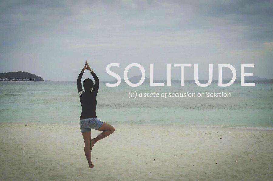 Solitude Namaste Yoga Tree Pose Beach Nature People Feelings Wanderlust Philippines