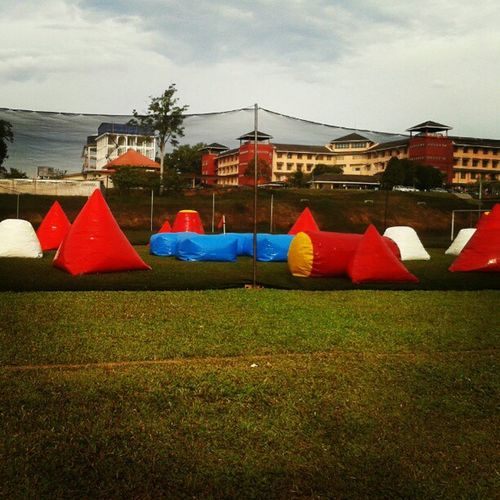 Phatetic day.. Paintball.. *will be continue tomorrow... Enough for today defeat... Kiş Kesuma Uitmdihatiku Awesome sports outdoors lovely
