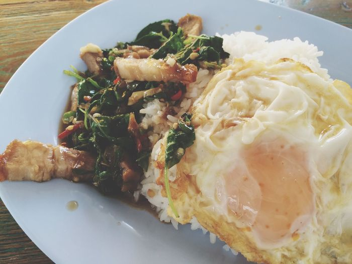 What's For Dinner? Thai Food Kai Pad Krapao