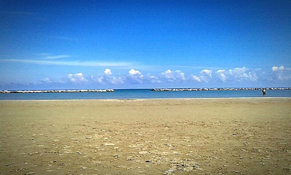 Riminibeach👍😎 Enjoying Life Hello World Phoyography Taking Photos Beautiful Tranquility Landcape Holiday Life Is A Beach