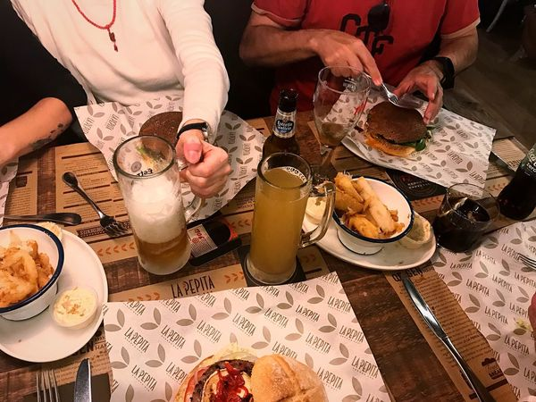 Be. Ready. Family, friends and yuca 🍠 can't think of much more that you might need to welcome the new year Food And Drink High Angle View People