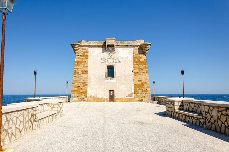 Torre di ligny, trapani, sicilia