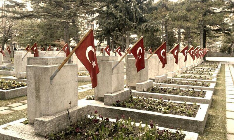 Turkey Taking Photos Turkishflag Martyrs 18Mart1915