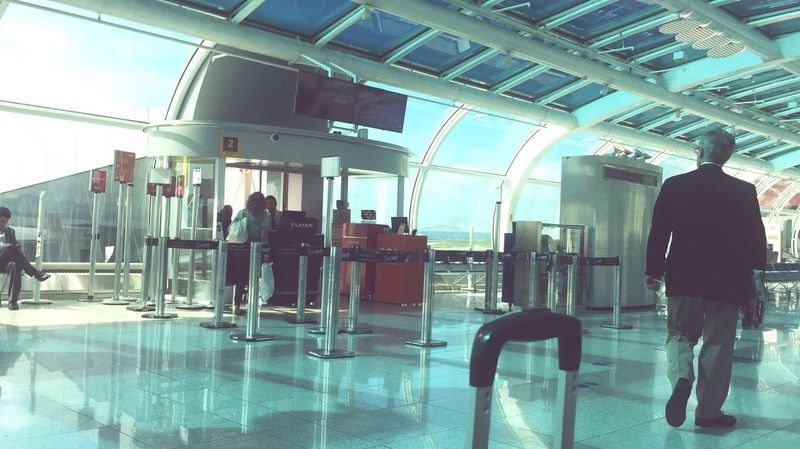 Aeroporto Santos Dumont Travel Airport Transportation Waiting Passenger Airport Departure Area Leaving