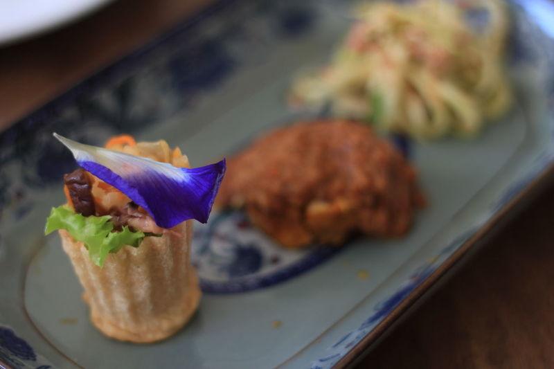 Pie Tee Starters Food No People Indoors  Ready-to-eat Freshness Close-up Nyonya Nyonya Style