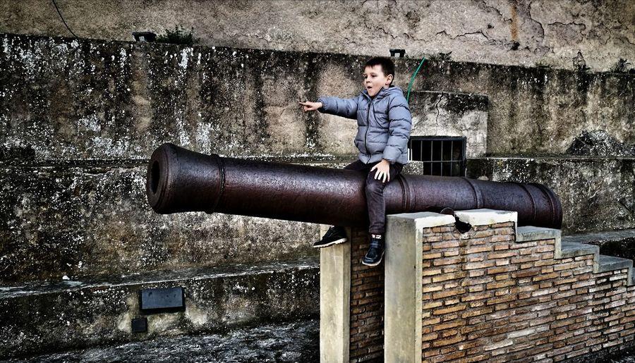 capocannonieri Canon Xativa Xativa's Castle Full Length Childhood Motion