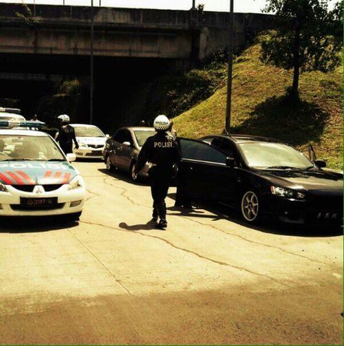 Police Police At Work Lovemyjob INDONESIA That's Me Patwal Highwaypatrol