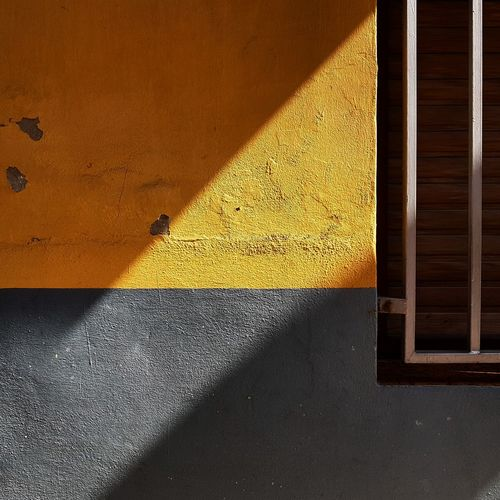 Yellow Architecture Architecture Mobilephotography Square Lines Window Minimalist Mobile Color Minimalism Shadows Geometry No People Xativa City Mobilephoto Mobile Editing Illuminated Shadows & Lights Textured  Shadow Abstract Colors Modern