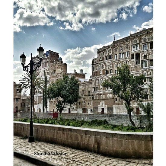 صنعاء_القديمة صنعاء اليمن عرب_فوتو تصويري  Old Buildings Heritagebuilding Yemen