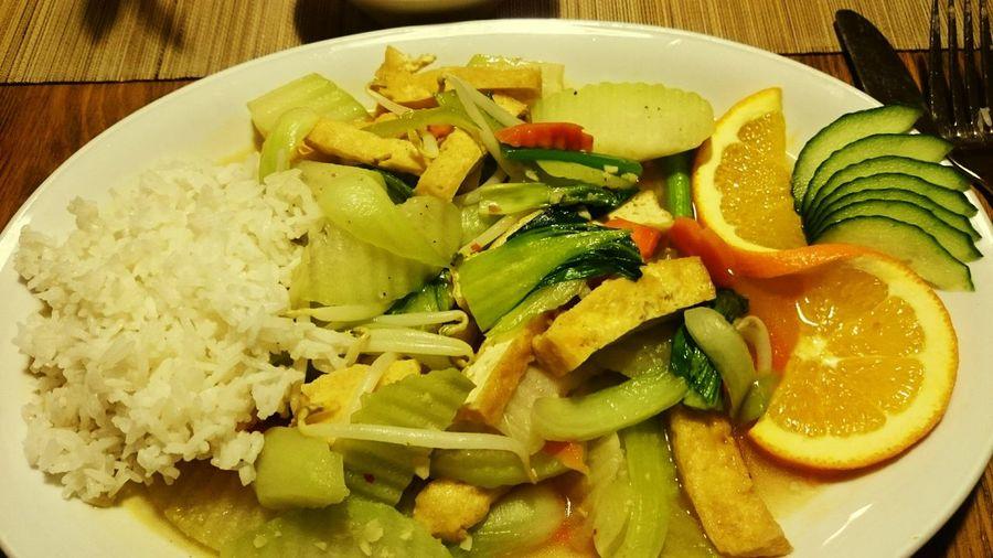 Abendessen Vegetarisch Vegan Food Vegetarian First Eyeem Photo