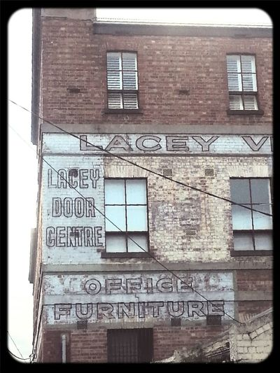 Walking Around Ghost Signs  Signage