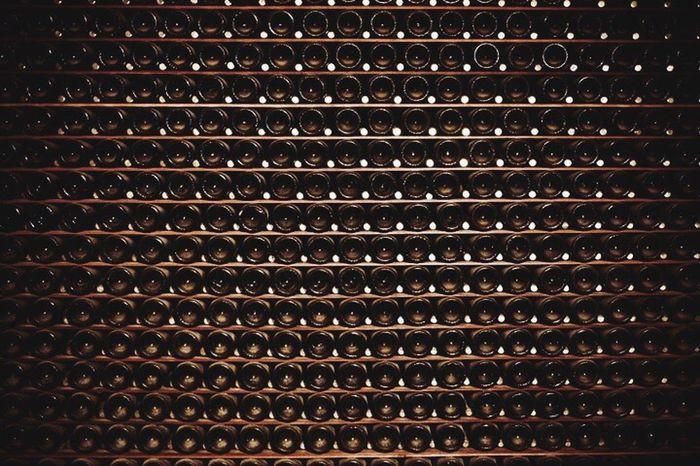 Champagne Bottles Bottom Cellar Sonomacounty Sonomawinecountry Pattern Pieces Pattern