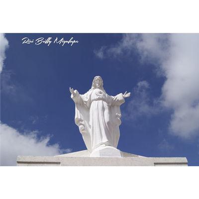 God Cloud - Sky Religion Sky Sculpture Statue Human Representation History Blue Day Memorial Naolinco, Veracruz, Mexico. Culture Beautiful Architecture Naolinco Naolinco De Victoria Naolinco Cielo Y Nubes  Azul Religions