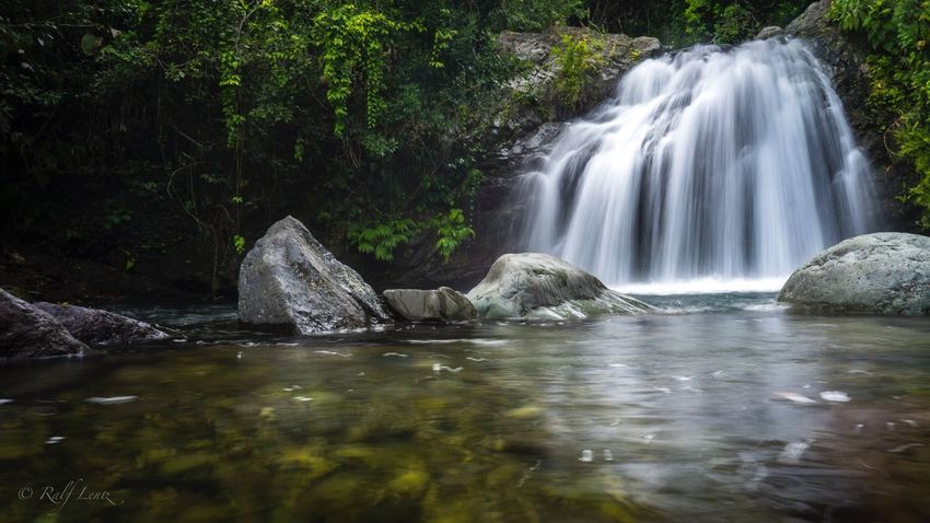 Waterfall Water Motion Nature Long Exposure Beauty In Nature No People Day Outdoors Tree Scenics