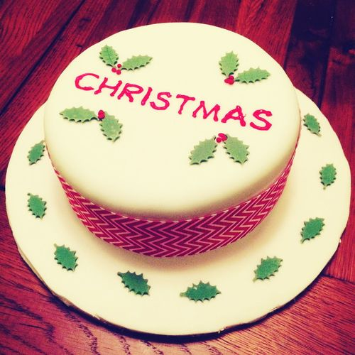 Christmas Baking ChristmasCake Cake