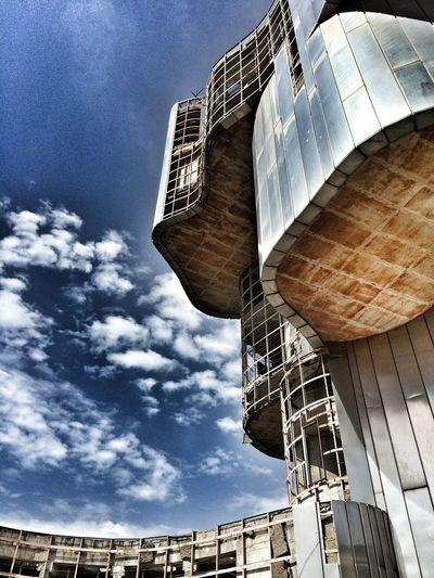 Architecture Day Lostplaces Modern Monument Ostarchitektur Verfallen Verlassene Orte