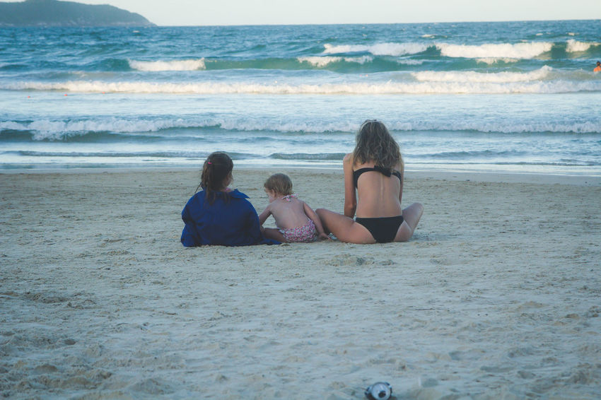 United Beach Day Family Leisure Activity Relaxation Sea Summer Tranquil Scene Vacations Water