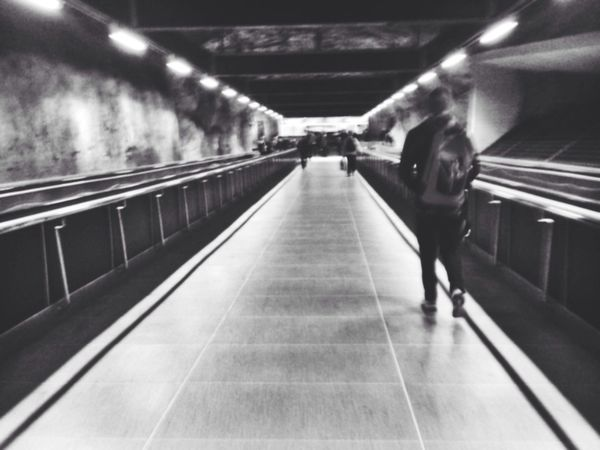 Check This Out Stockholm Underground Blackandwhite