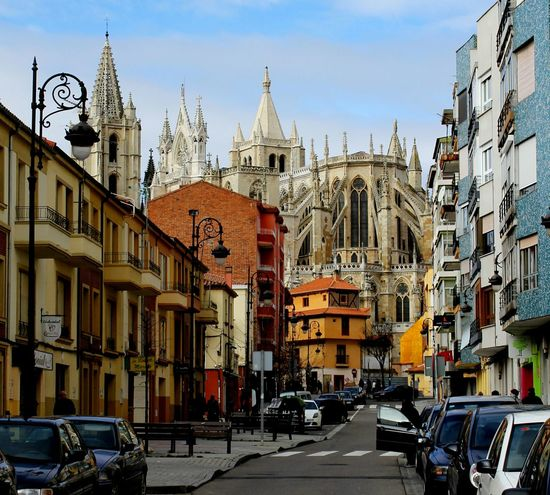 Catedrales Catedral De Leon Gotico Leon