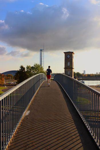Running in Glasgow, Scotland. First Eyeem Photo