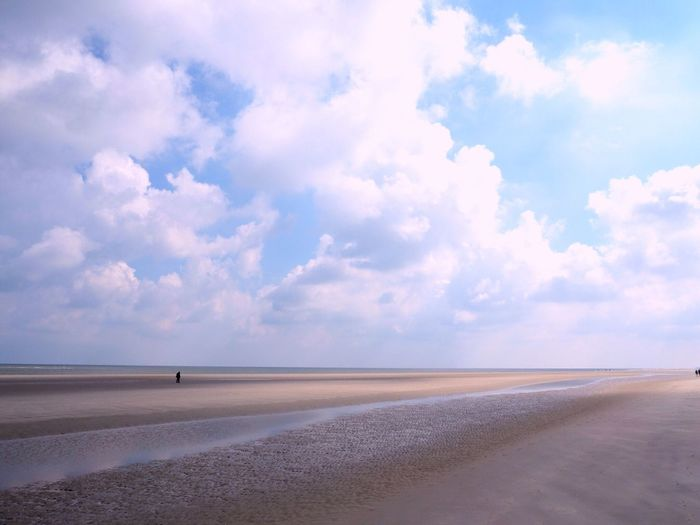 Spiekeroog Sky Tranquility Tranquil Scene Scenics Sand Cloud - Sky Beauty In Nature