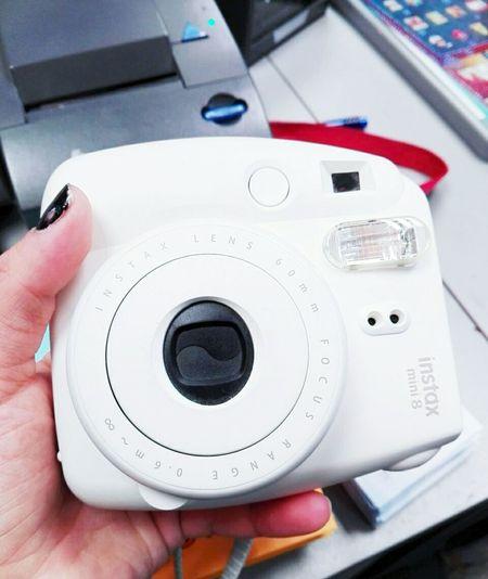Instaxmini8 White